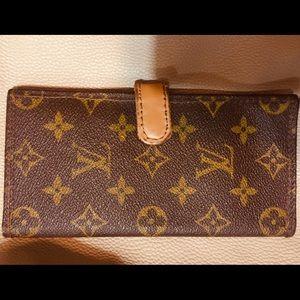 RARE Vintage Louis Vuitton Checkbook Wallet